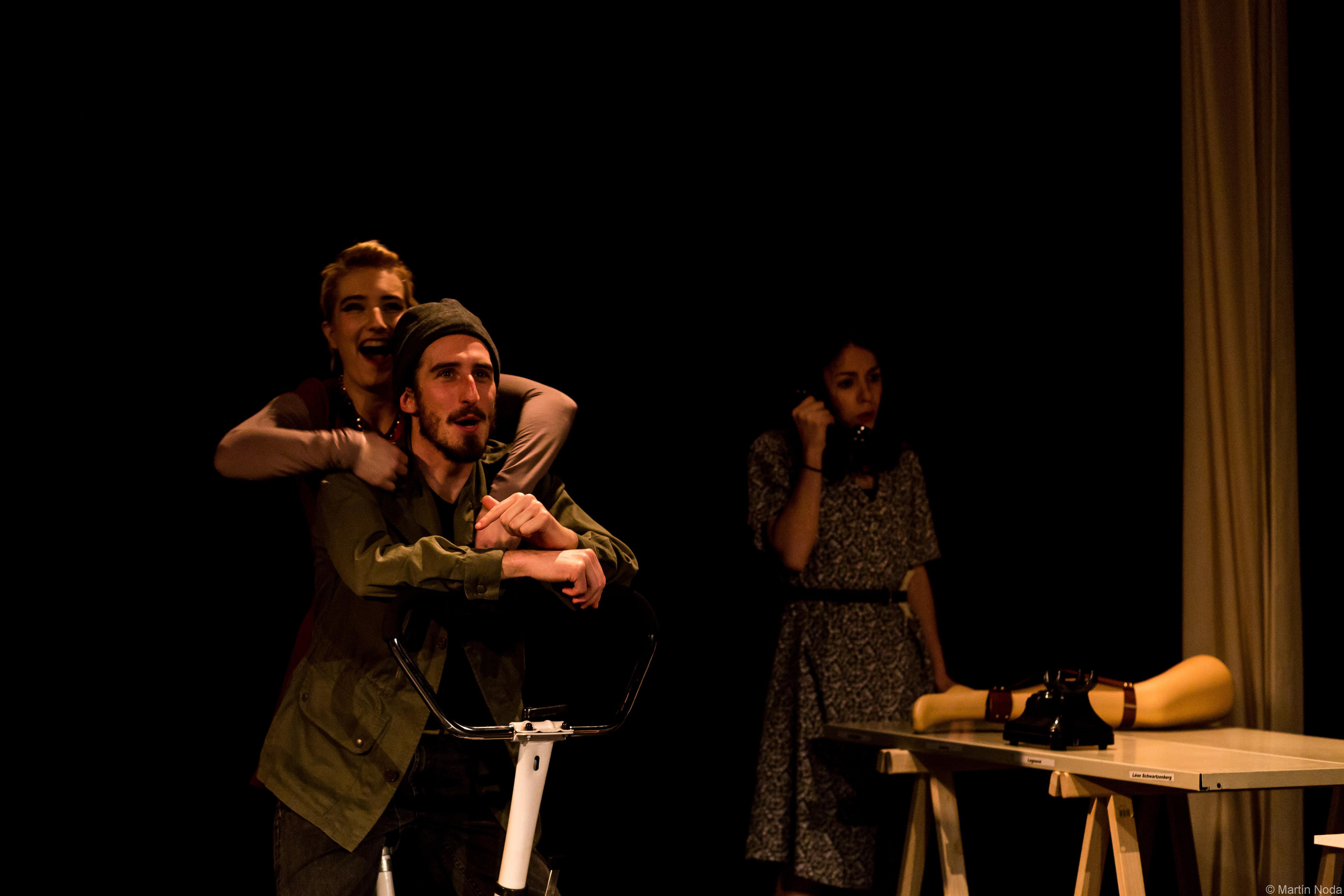 Répétitions - Daniel Horn, Laurie-Anne Macé et Margot Tramontana