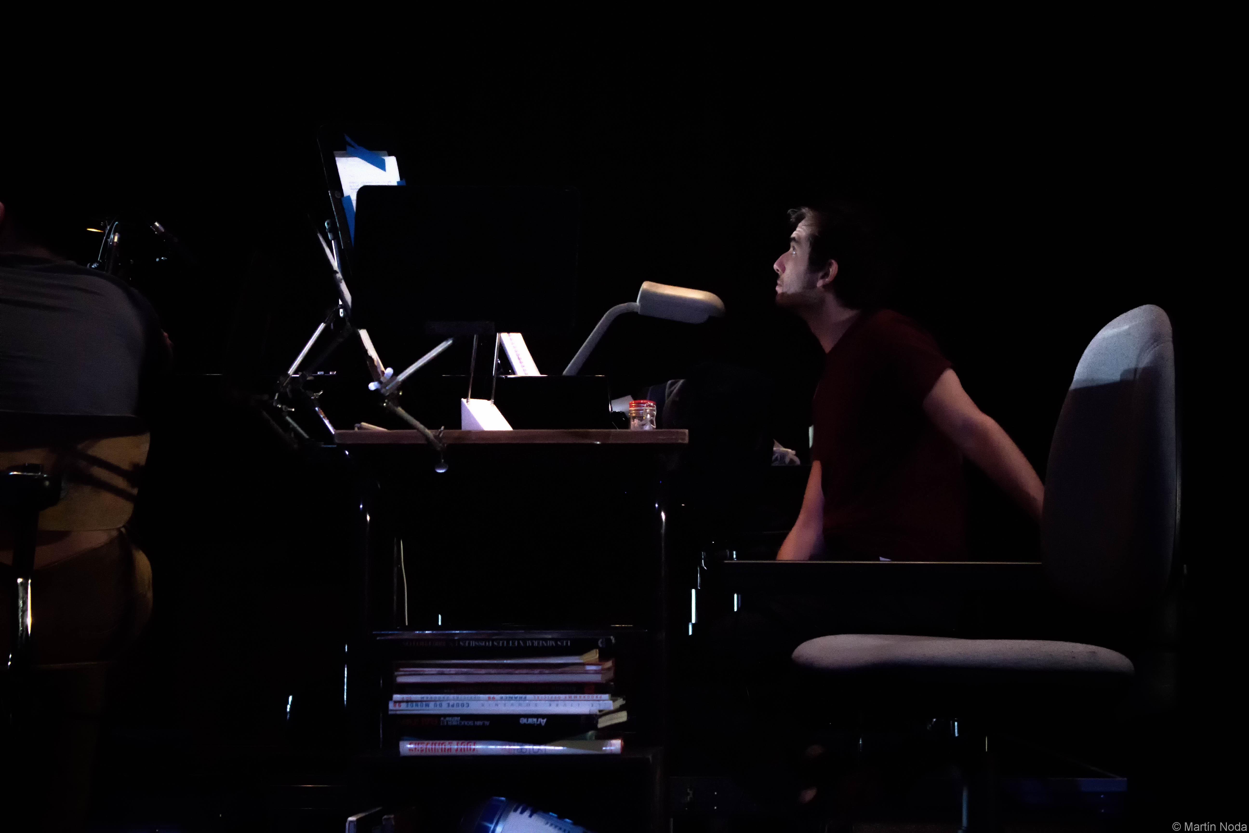 Répétitions, Romain Louveau