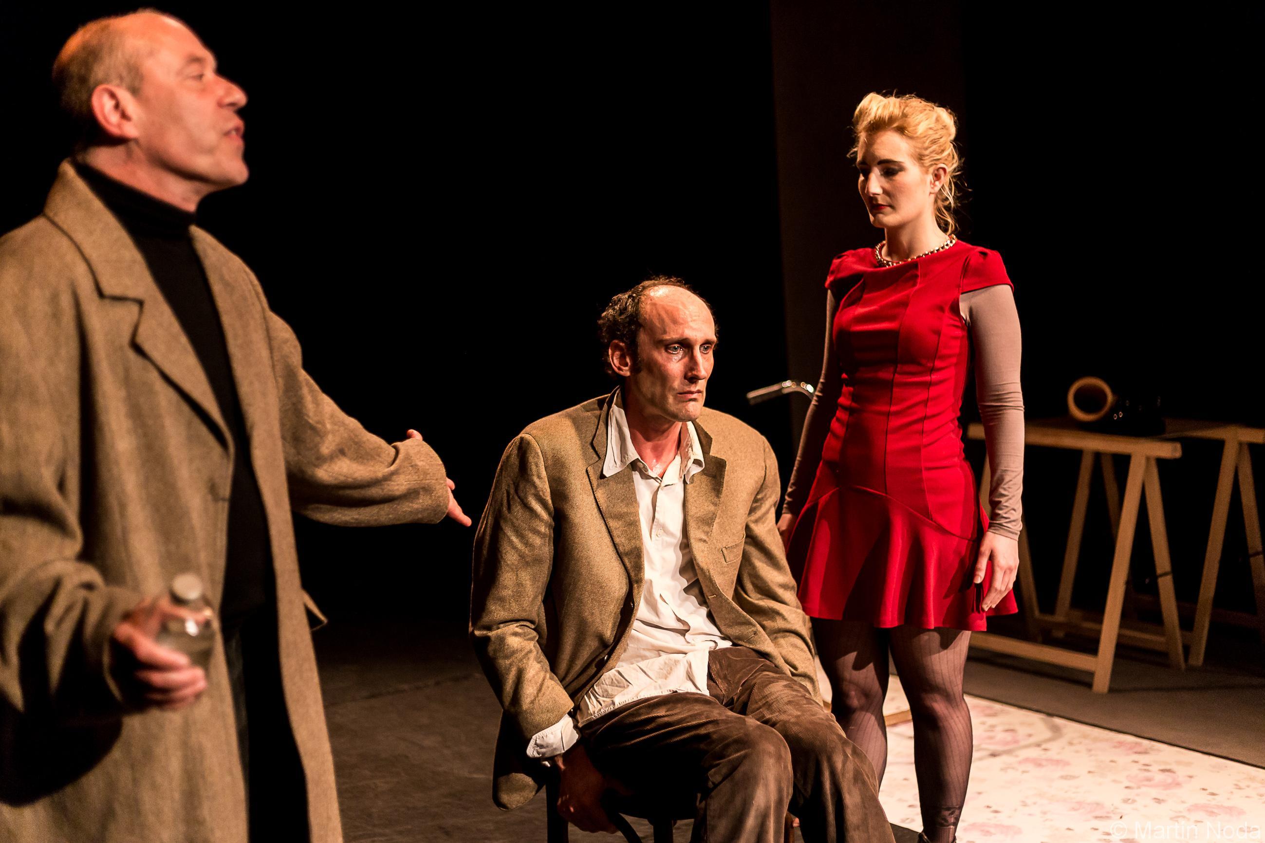Laurie-Anne Macé, Vincent Morisse et Frederic Rumeau