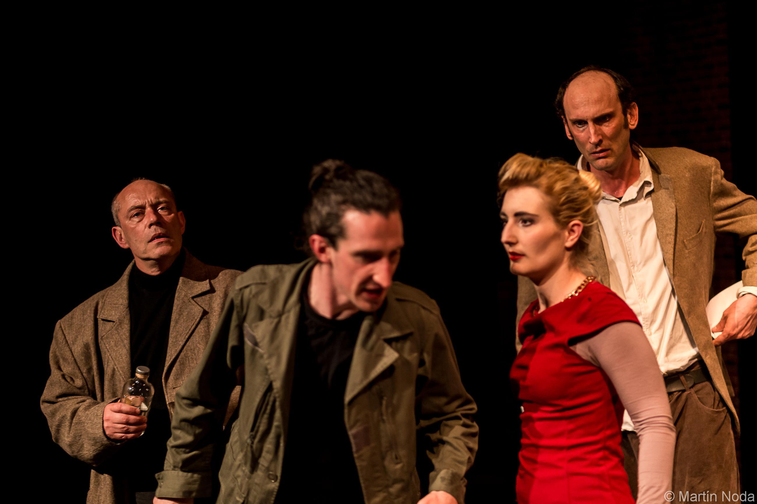 Daniel Horn, Laurie-Anne Macé, Vincent Morisse et Frederic Rumeau