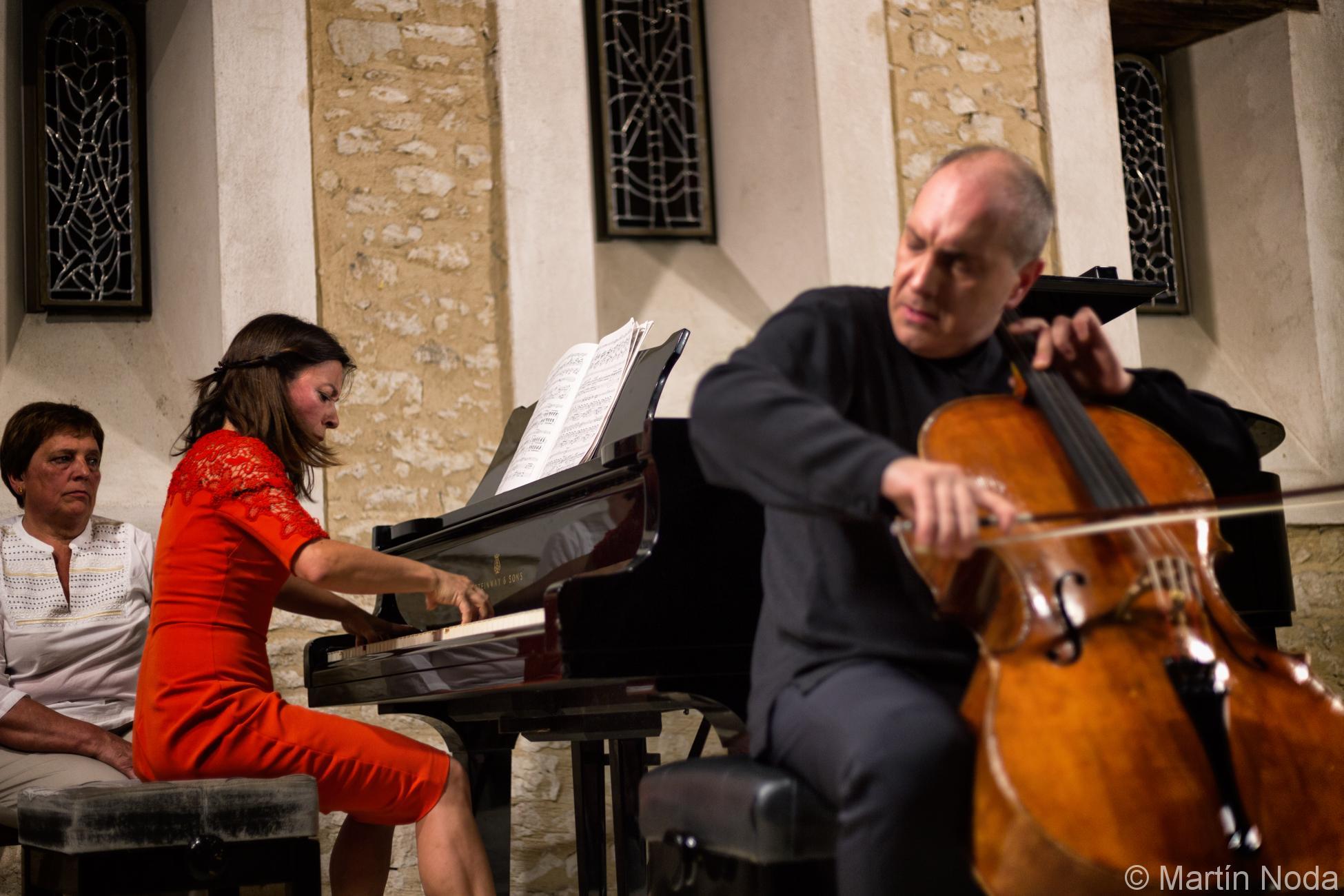 Marta Zabaleta et Asier Polo