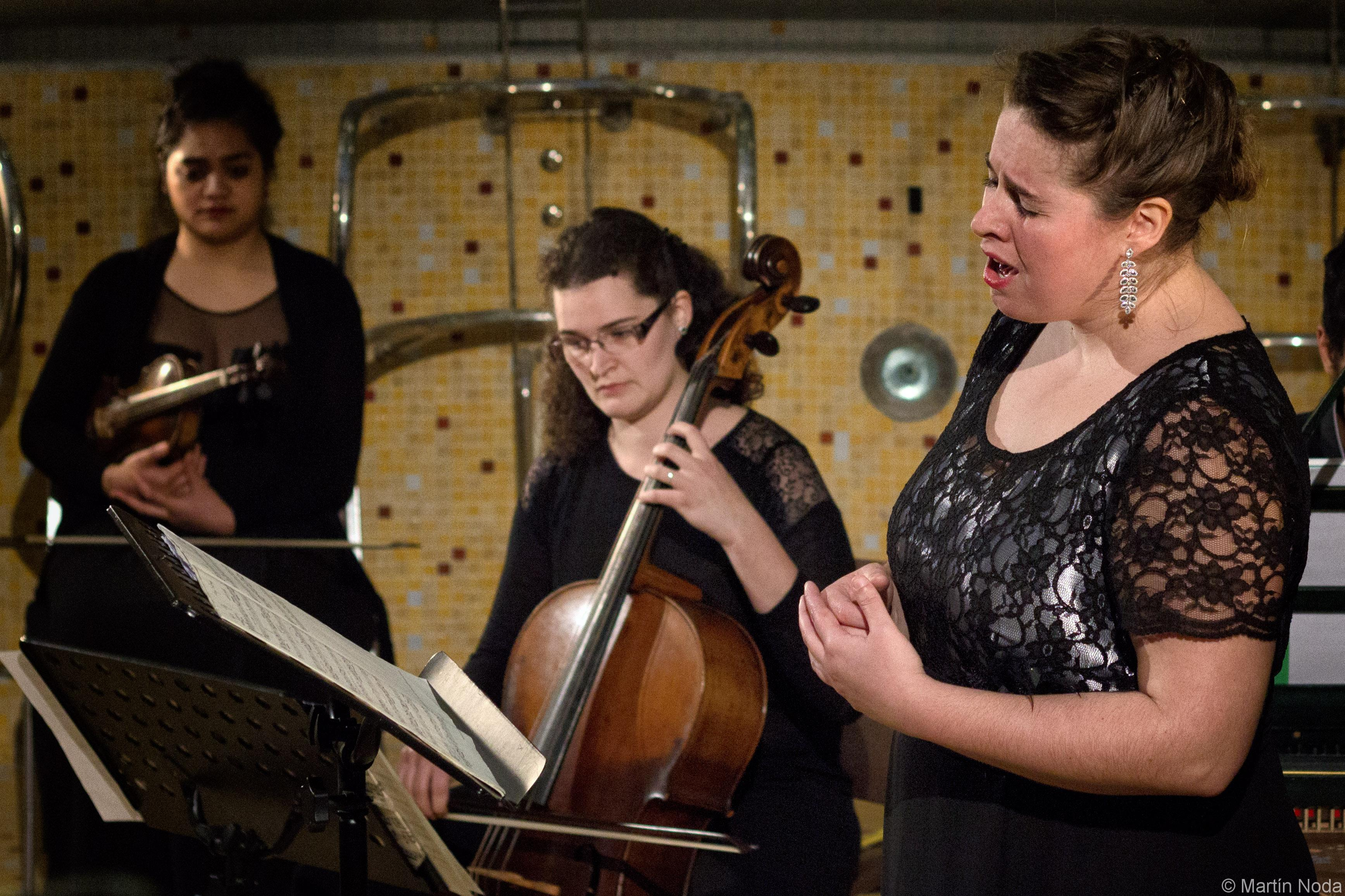 5 avril, Anciens Thermes Nationaux, Alice Lestang et Tania-Lio