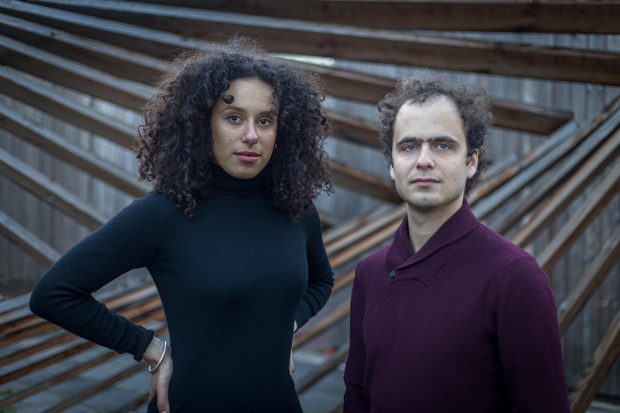 Adèle Charvet et Florian Caroubi
