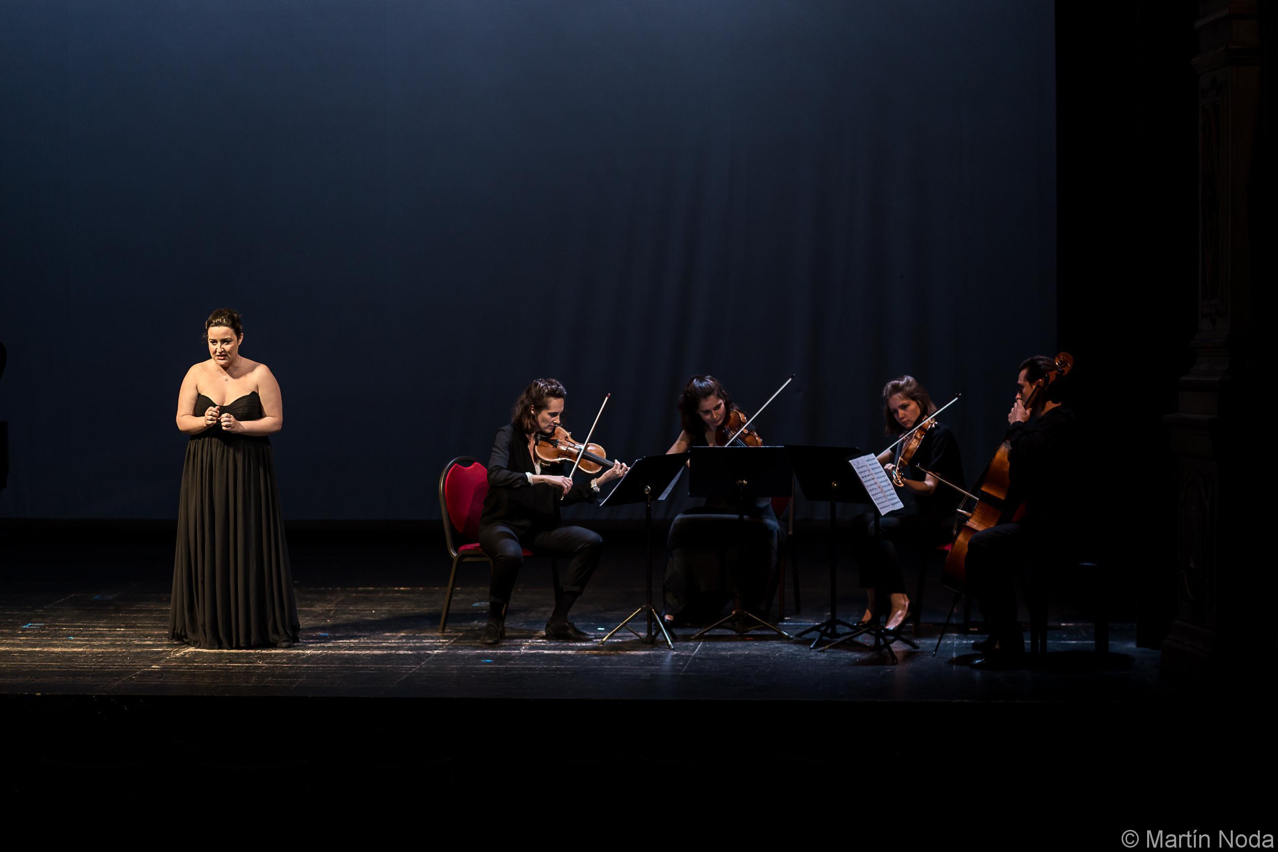 Marie Soubestre, Fiona Monbet, Hélène Maréchaux, Léa Hennino et Gauthier Broutin