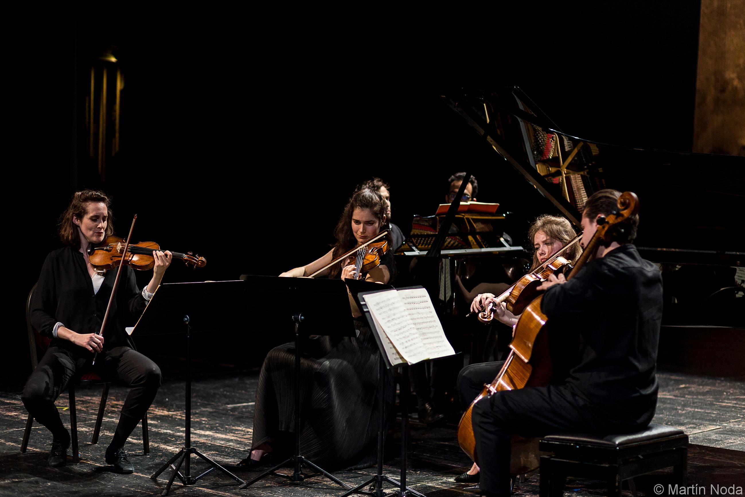 Fiona Monbet, Hélène Maréchaux, Léa Hennino et Gauthier Broutin