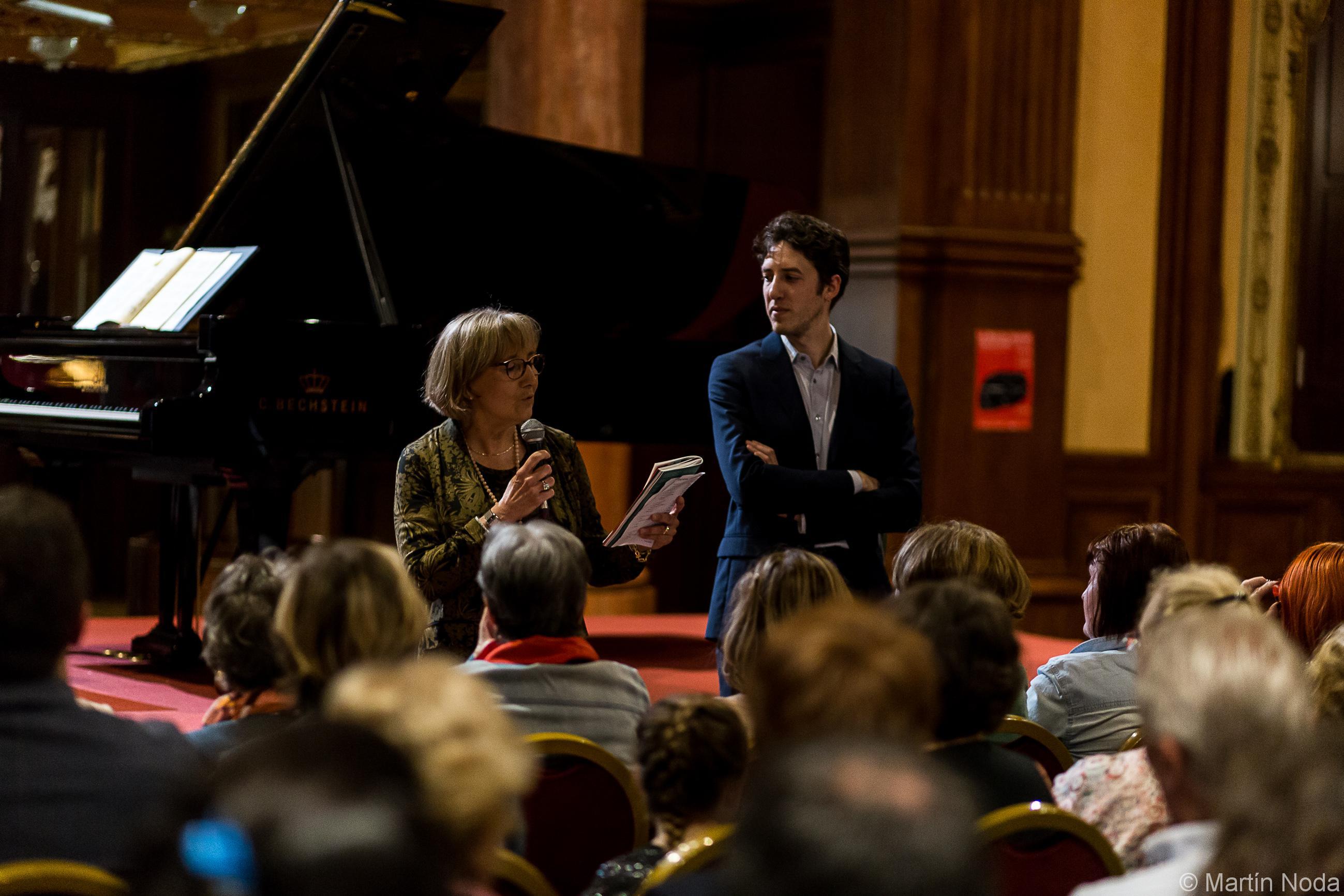 Antoine Thiollier et Martine Bellier
