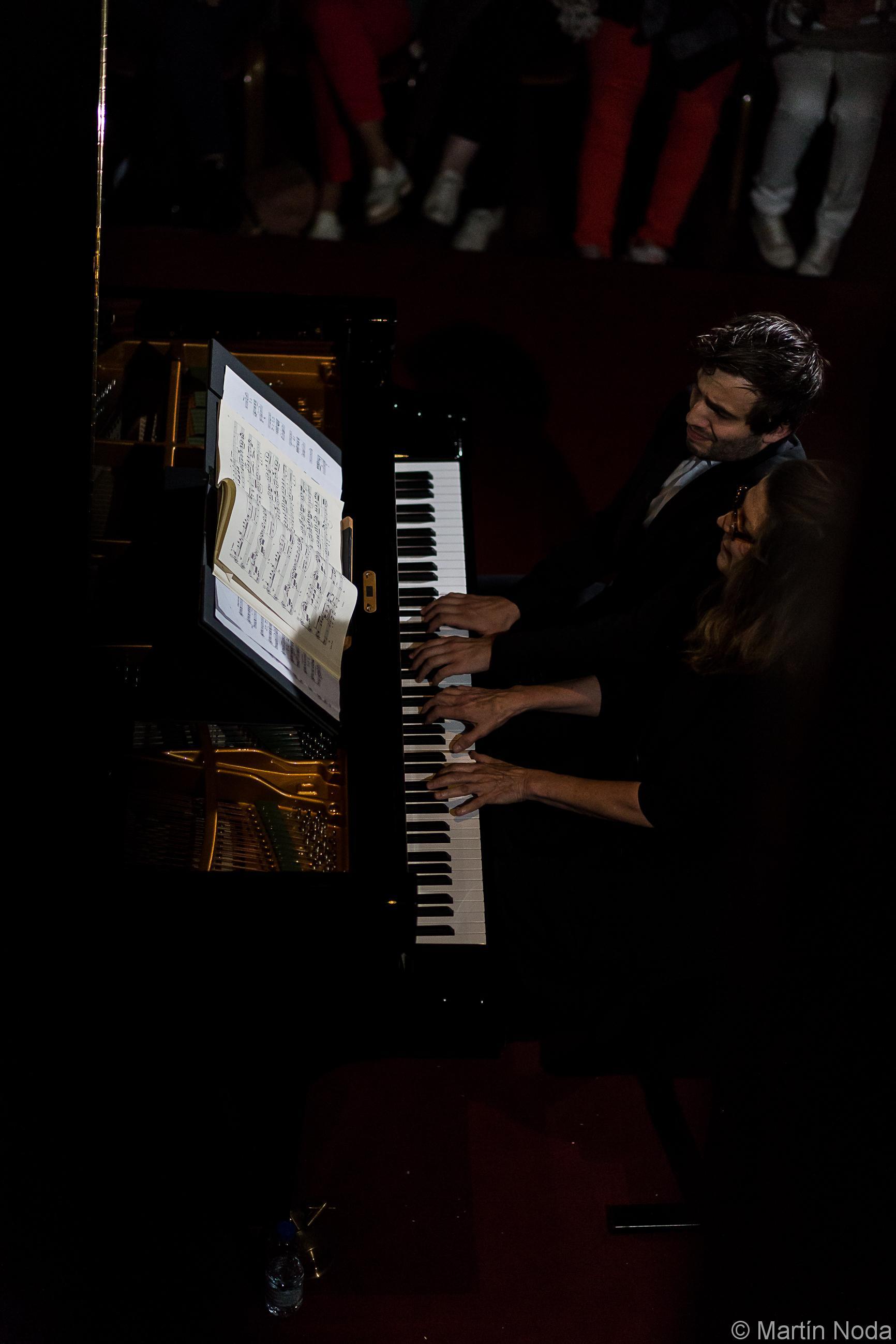 Romain Louveau et Susan Manoff