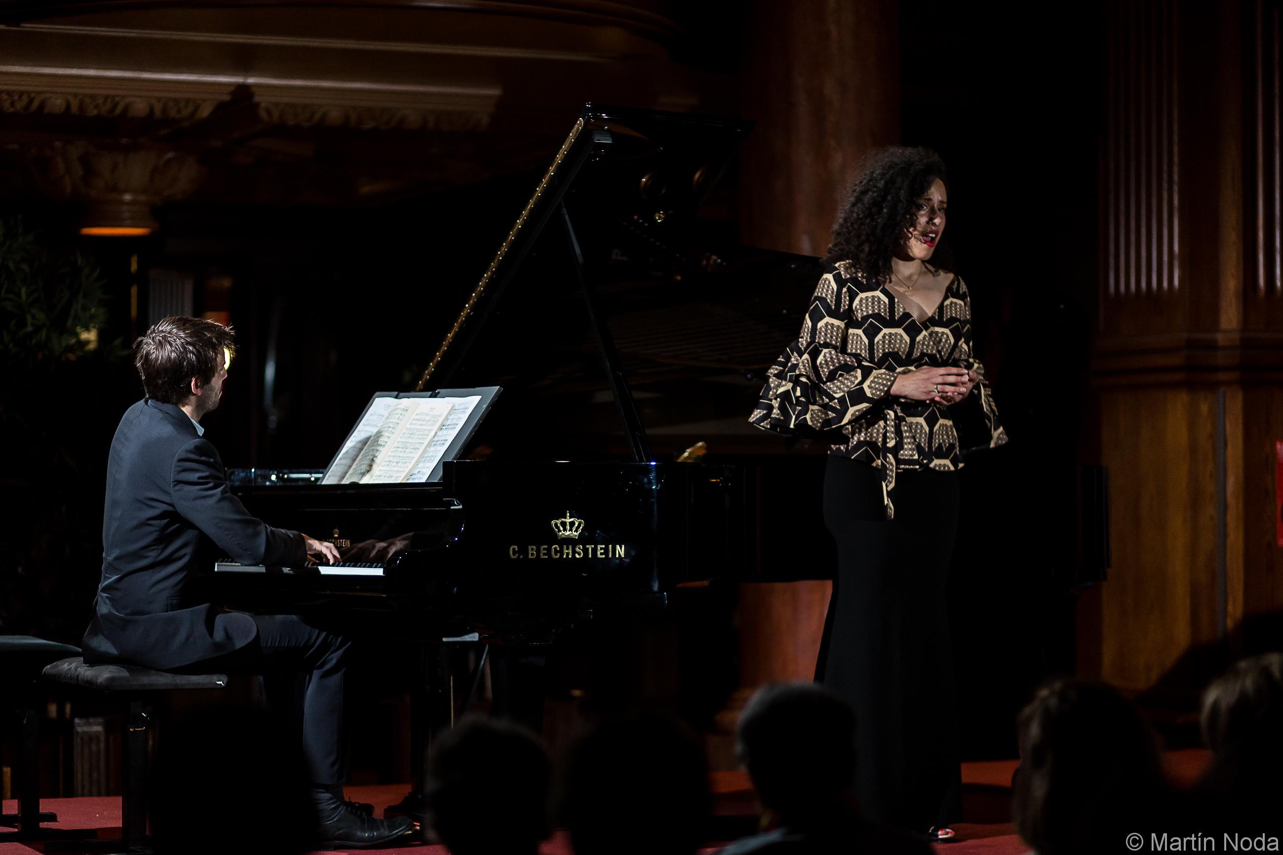 Romain Louveau et Adèle Charvet