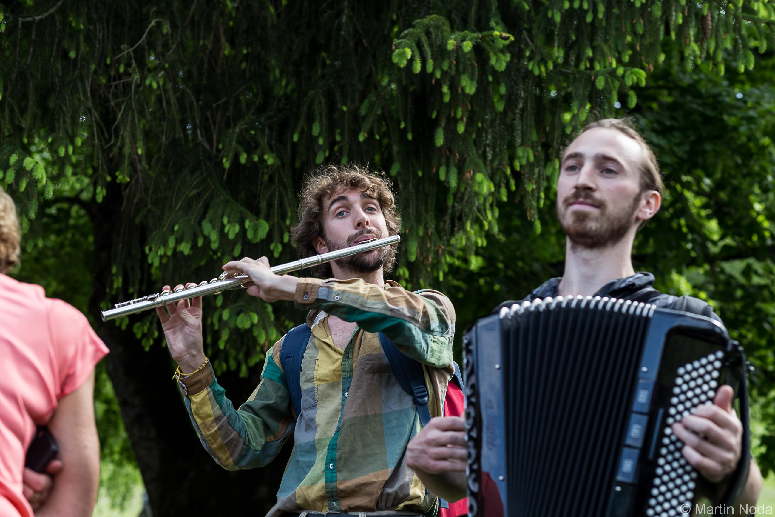 Samuel Bricault et Sven Riondet