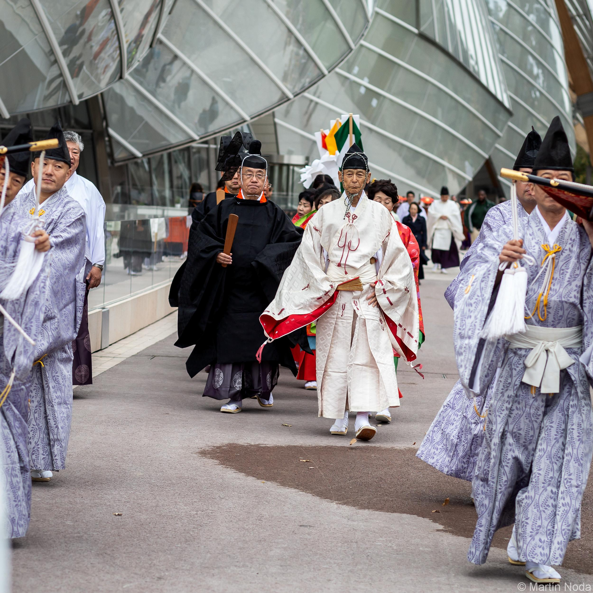 Nara - Parade traditionelle du Kasuga Taisha
