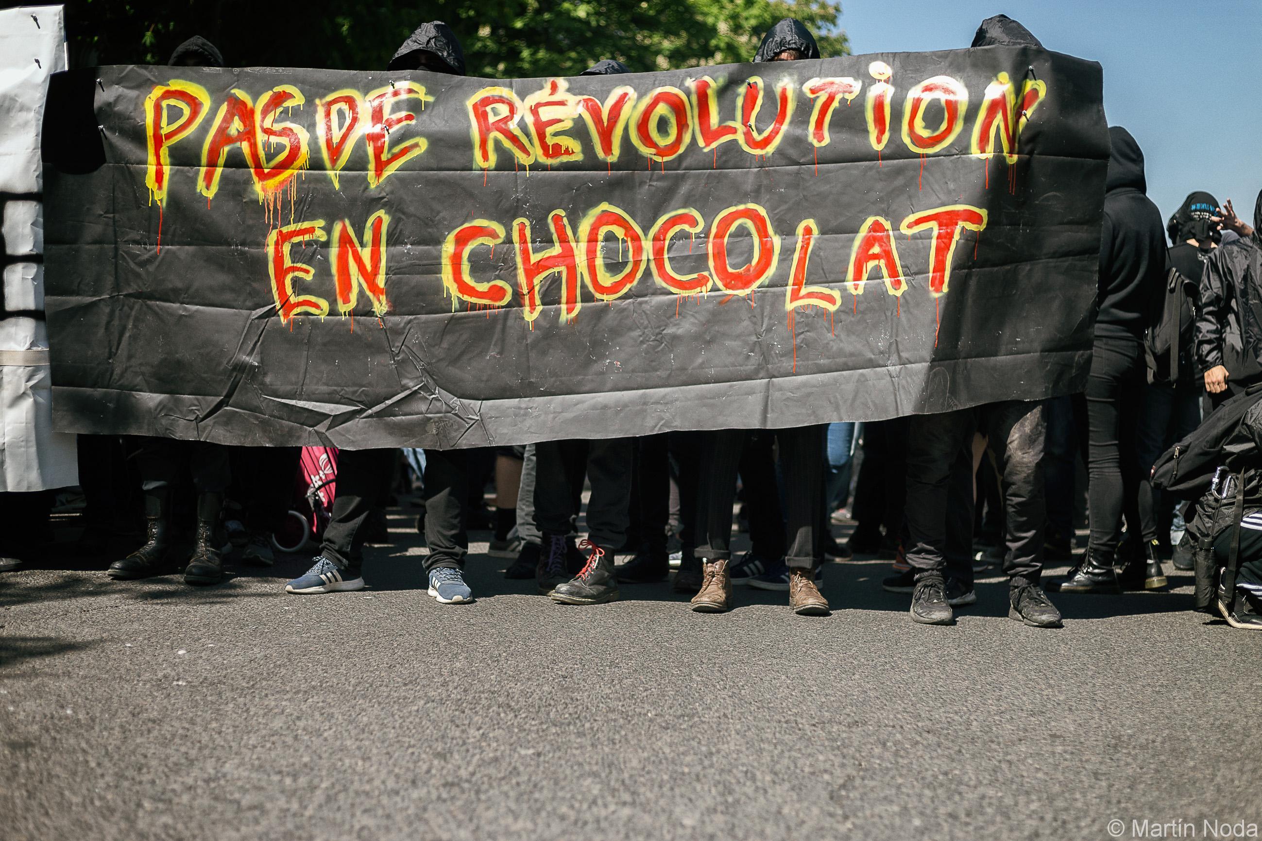 Paris - 19/04/2018 - Manifestation interprofessionnelle