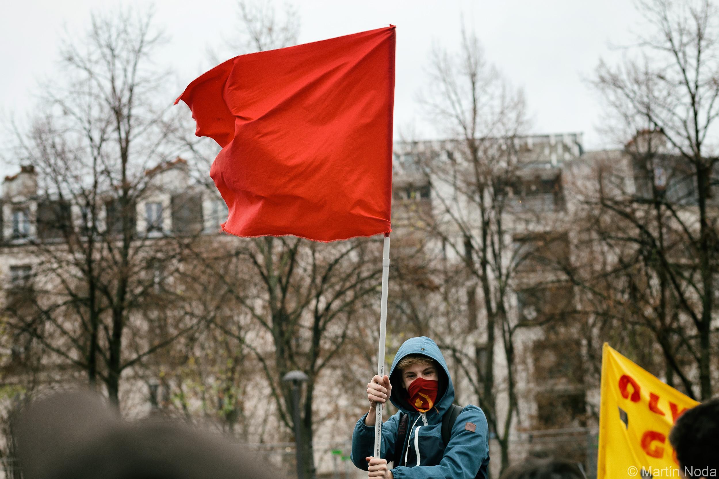 Paris - 07/12/2018 - Mobilisation lycéenne et Etudiante