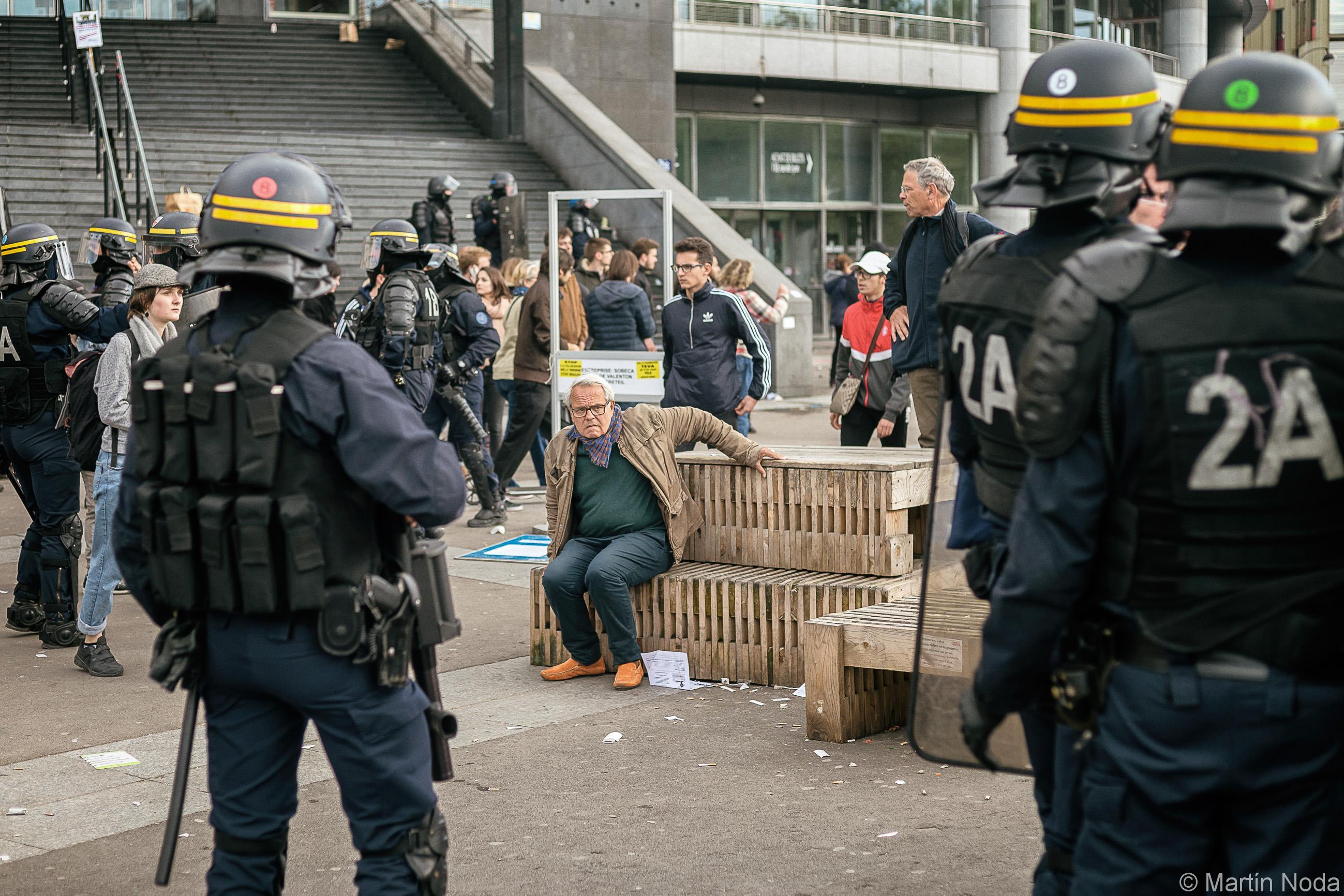 Paris - 01/05/2018 - Manifestation du 1er mai