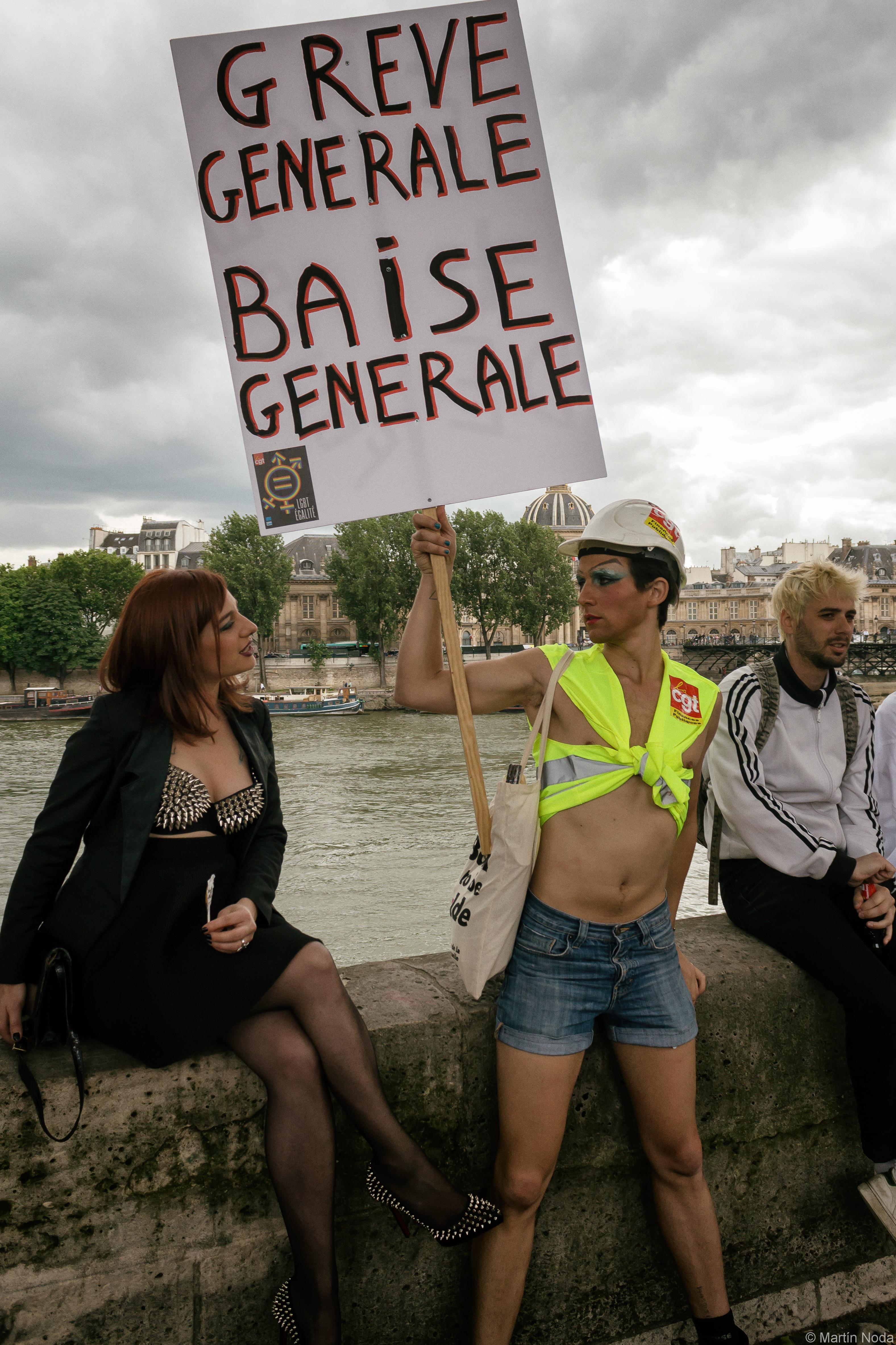 Paris - 04/07/2016 - Marche des Fiertés