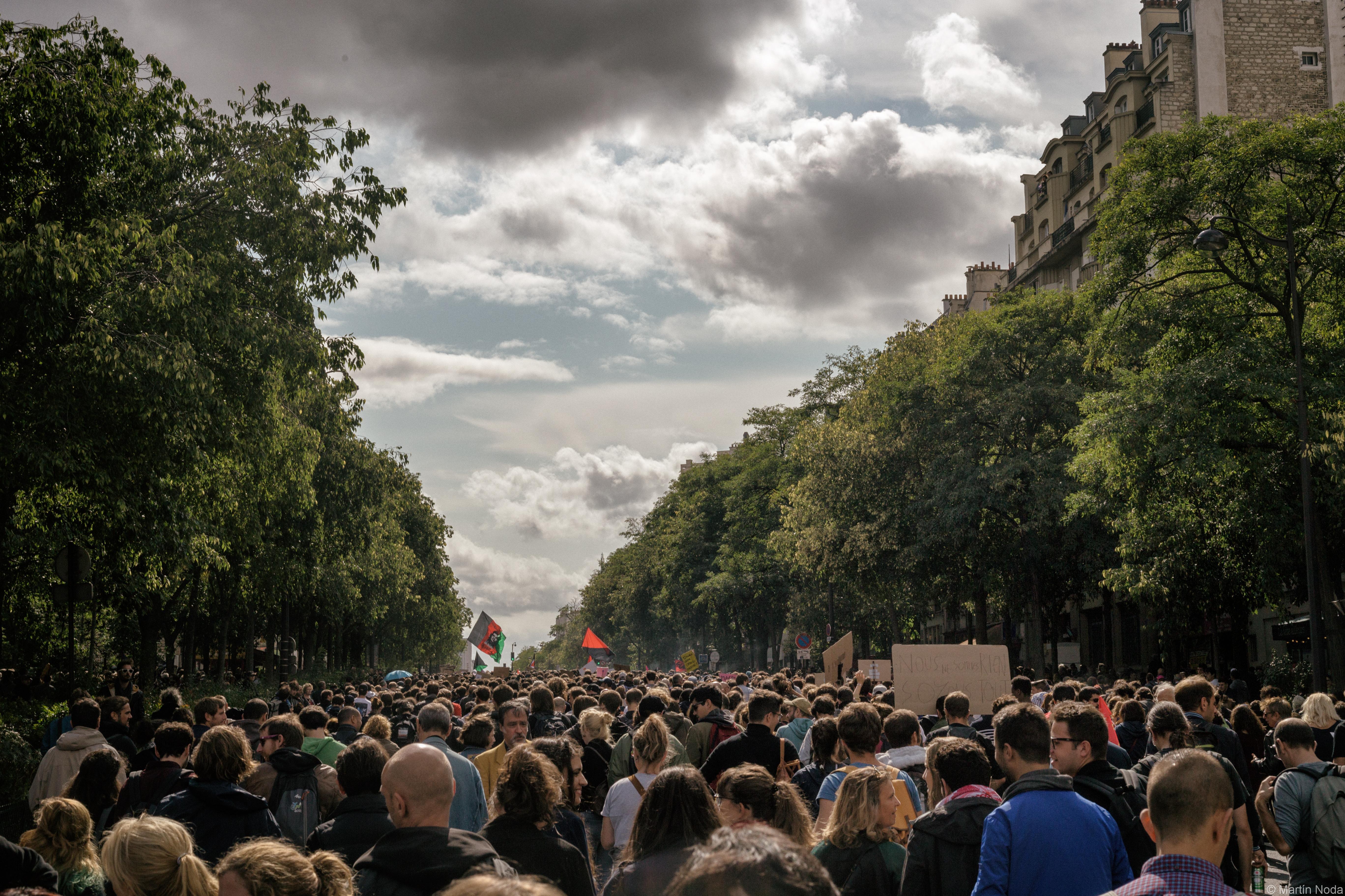 Paris - 12/09/2017 - Manifestation interprofessionnelle