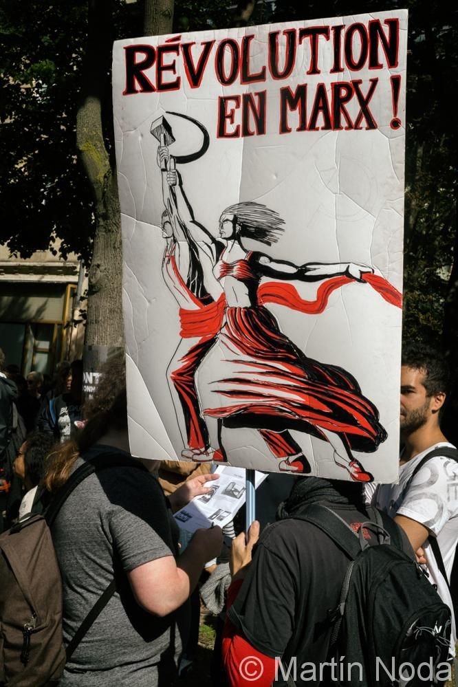 Paris - 21/09/2017 - Manifestation interprofessionnelle
