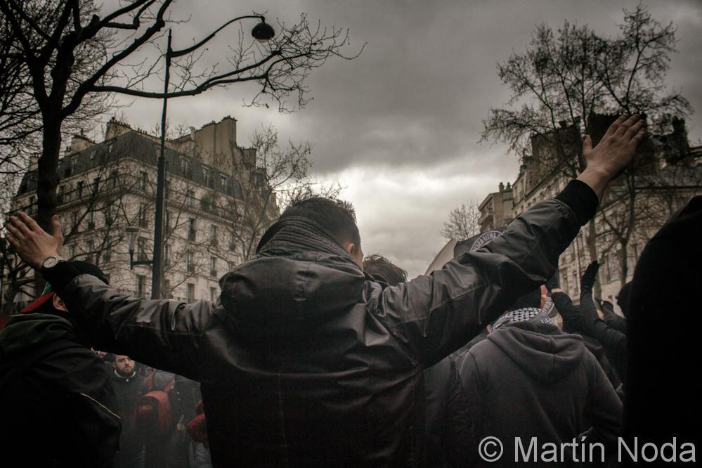 Paris - 19/03/2017 - Marche pour la dignité
