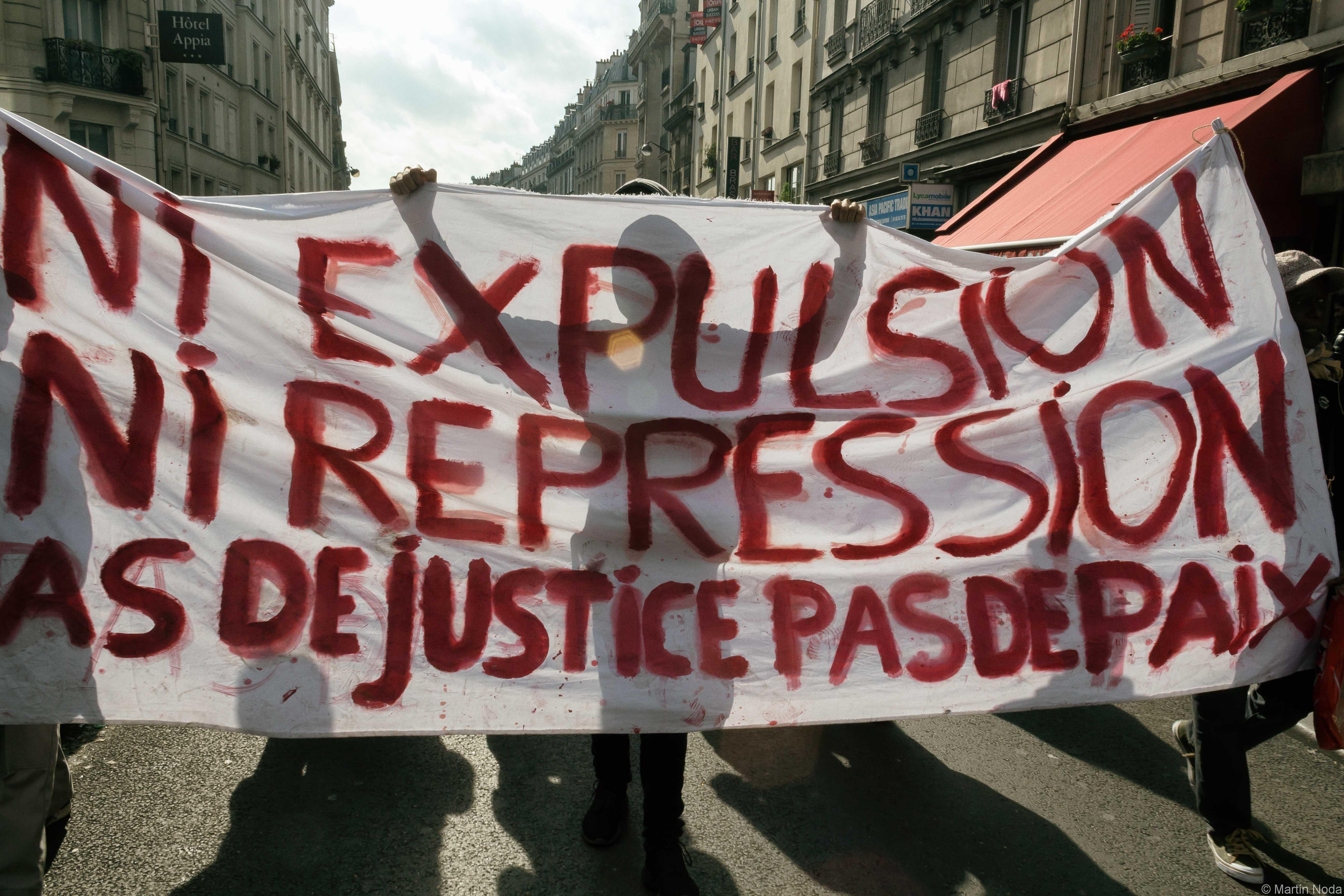 Paris - 15/10/2016 - Manifestation contre les violences policières