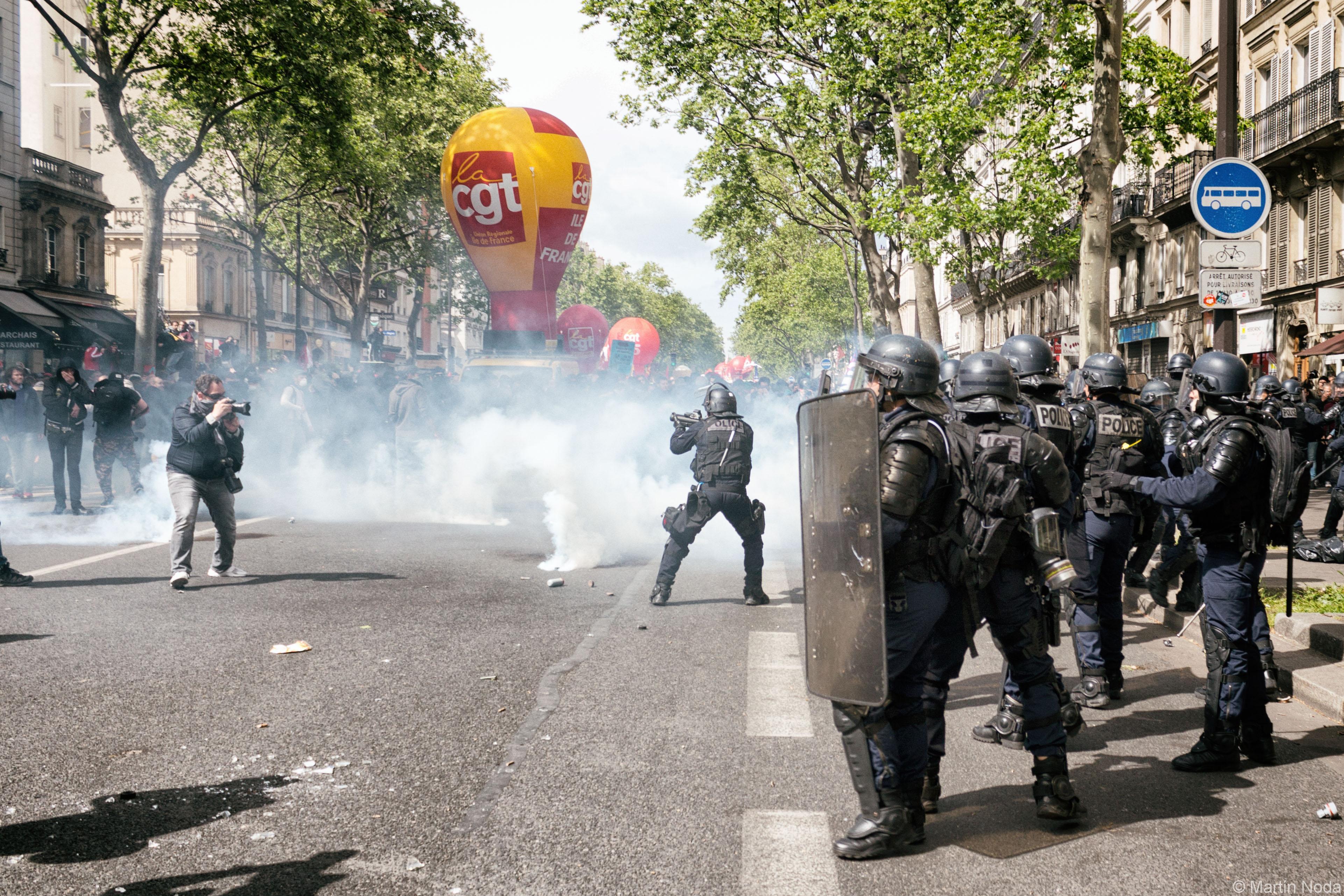 Paris - 01/05/2017 - Manifestation du 1er mai