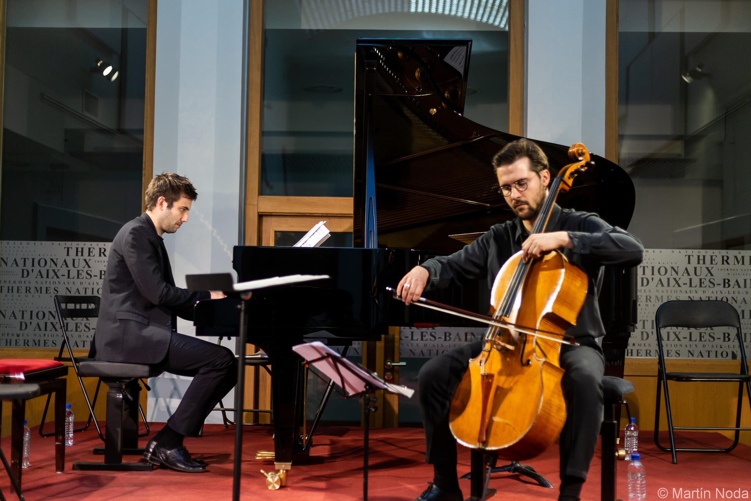 Romain Louveau et Gauthier Broutin