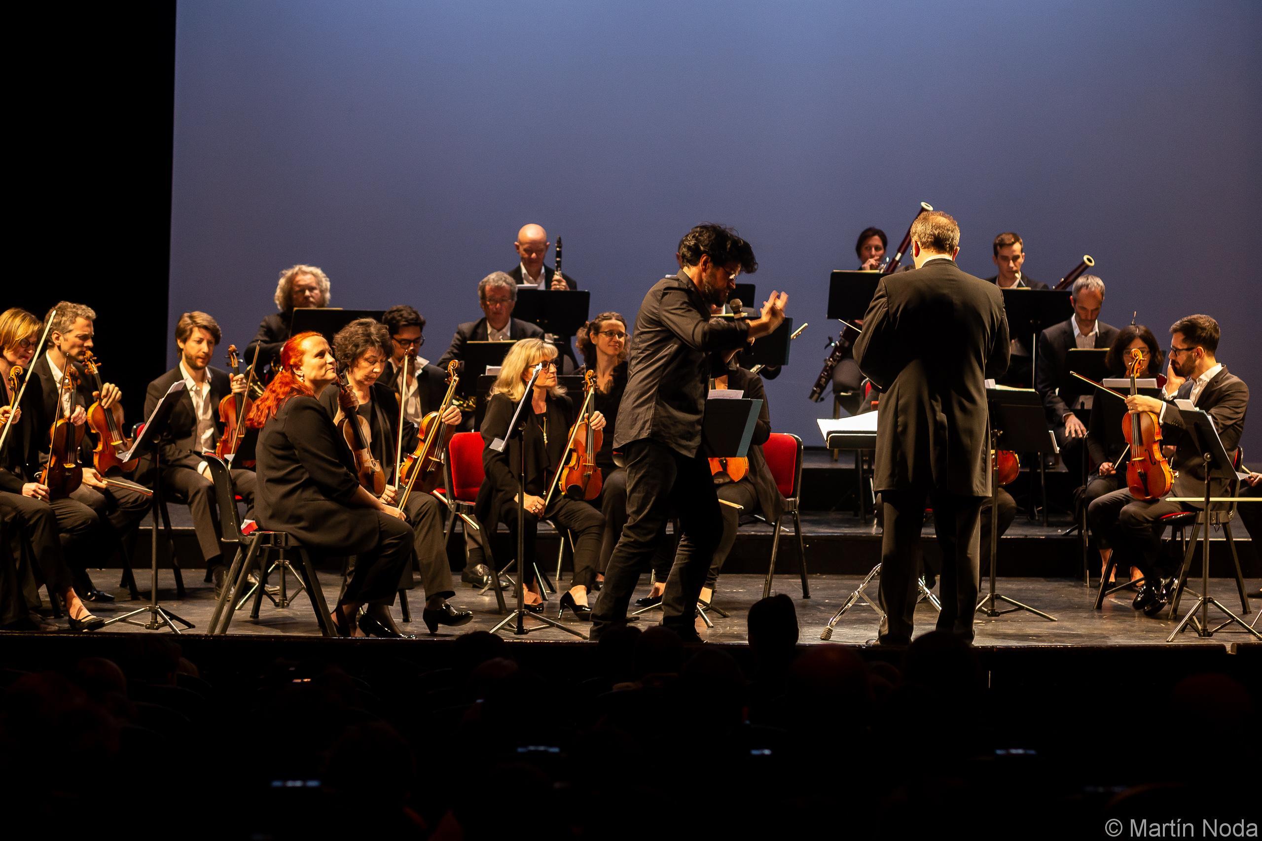 Clément Lebrun et l'Orchestre des Pays de Savoie