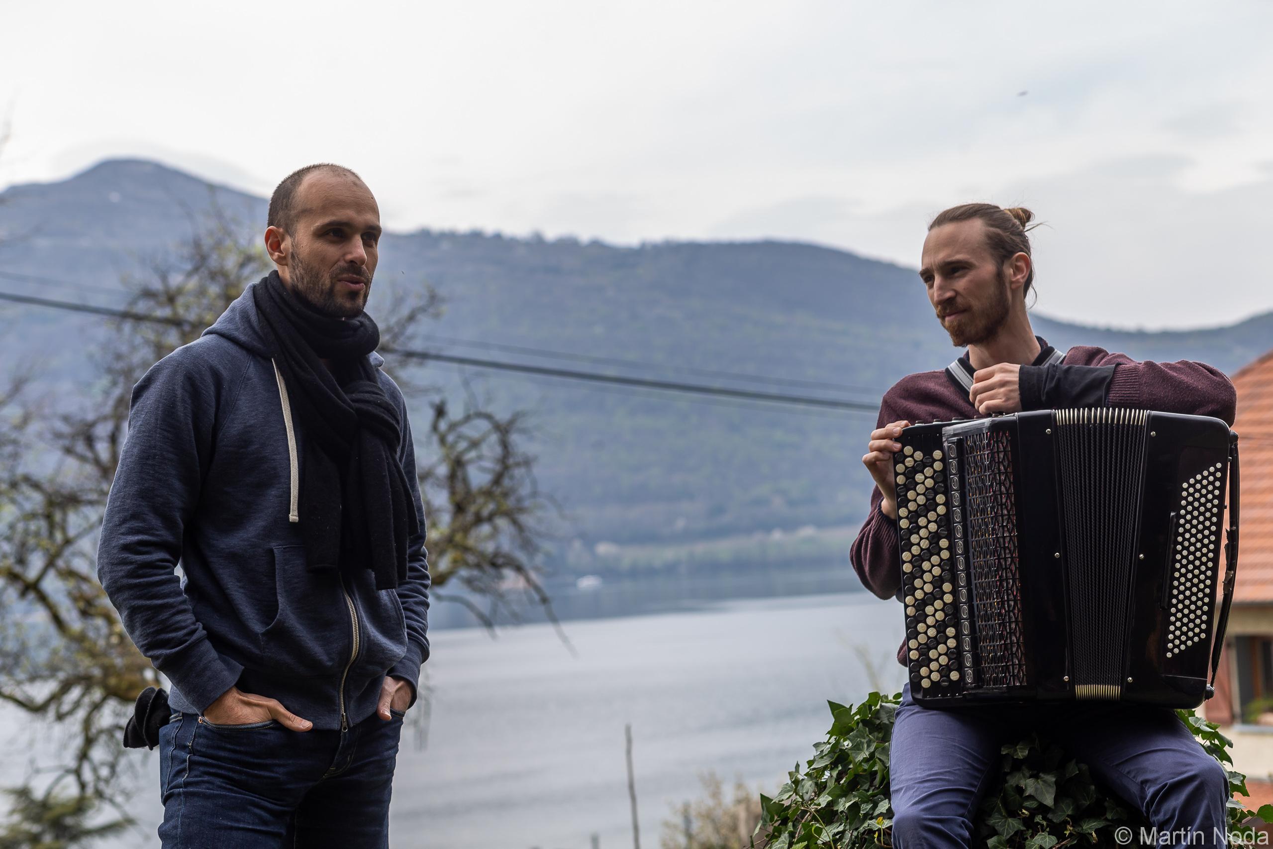 Sven Riondet et Damien Delorme