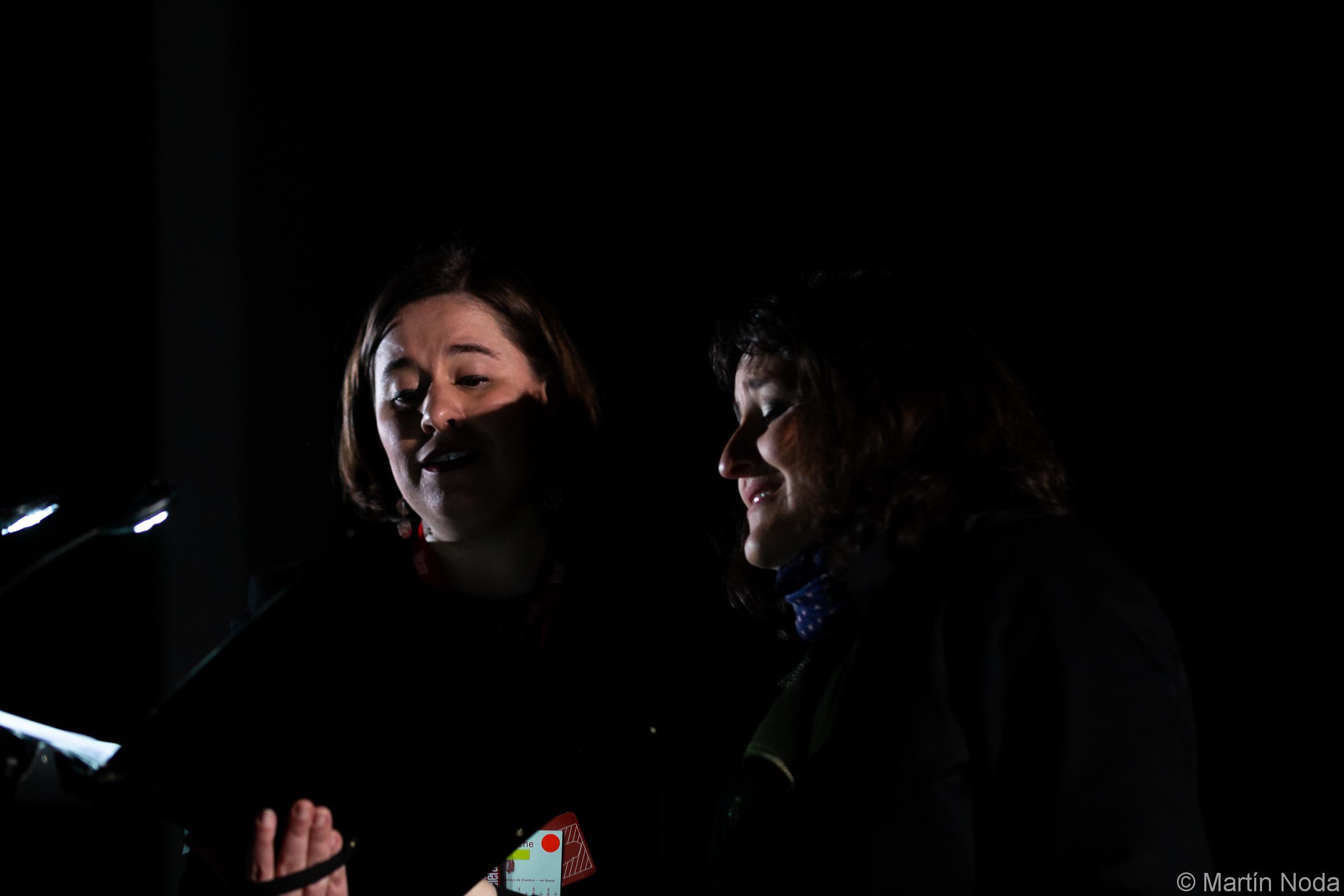 Marie Soubestre et Alice Lestang