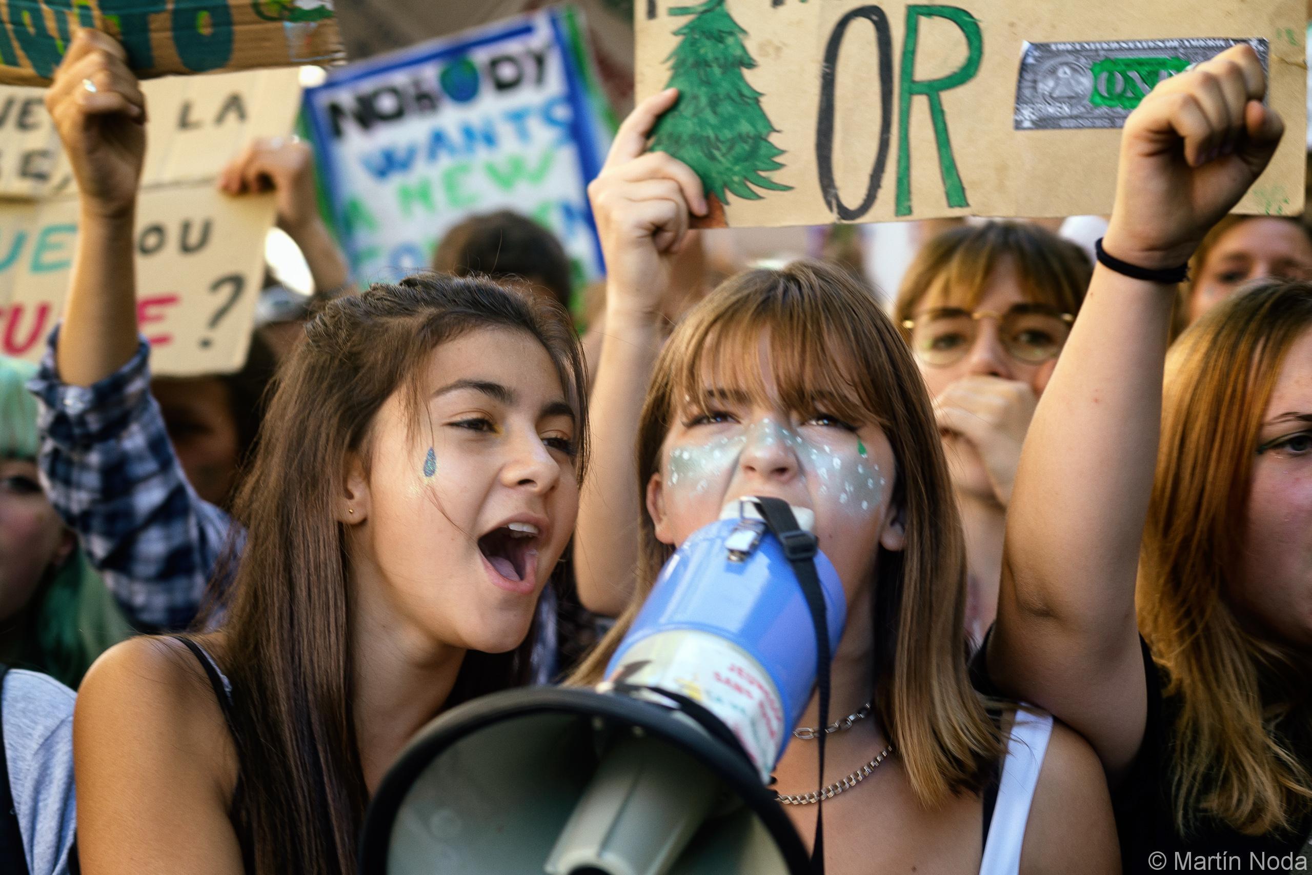 Grève de la jeunesse pour le climat à Paris. 20/09/2019