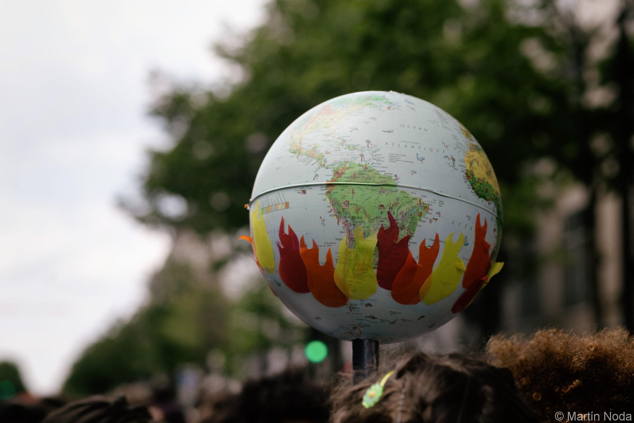 Grève mondiale pour le climat à Paris. 24/05/2019